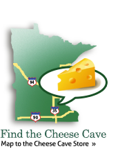 Map to Cheese Cave Store